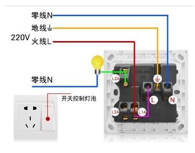 一开三孔开关控制图不接线插座_360问答t.什么图纸是格式图片