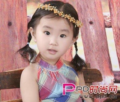 儿童梳头发型即简单又好看没刘海的怎么梳有图画和部骤