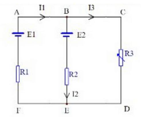 基尔霍夫定律是电路理论中最基本也是最重要的定律之一.