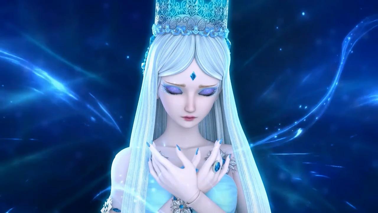 冰公主两次冰封自己,一次为为逼迫,这次却为哥哥!