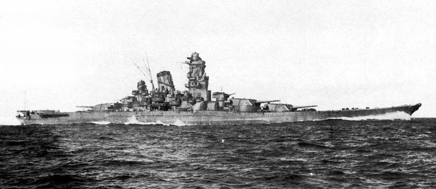 大和级战列舰 国家:日本 舰载飞机:6架水上飞机 简介 大和级战列舰是