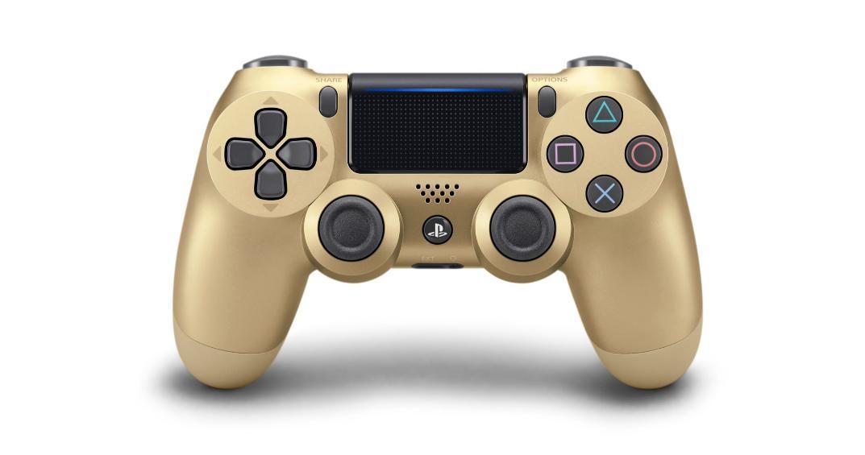 索尼PS4手柄土豪金版开卖