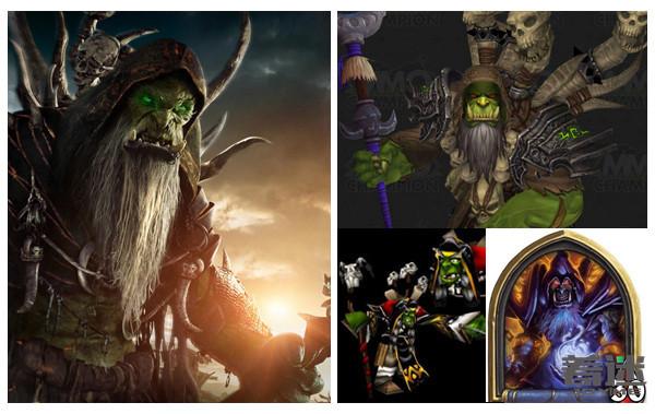 魔兽电影原型,魔兽电影角色,魔兽角色对比