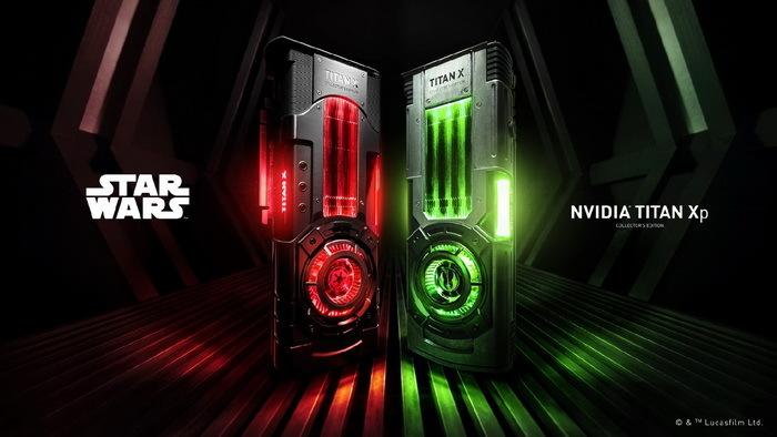 Nvidia星战收藏版Titan X显卡正式发布 红绿配色售价1200美元
