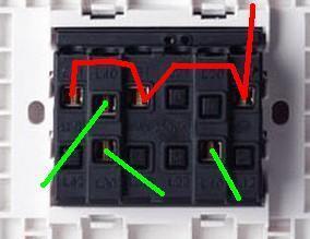 三开单控开关怎么接图片
