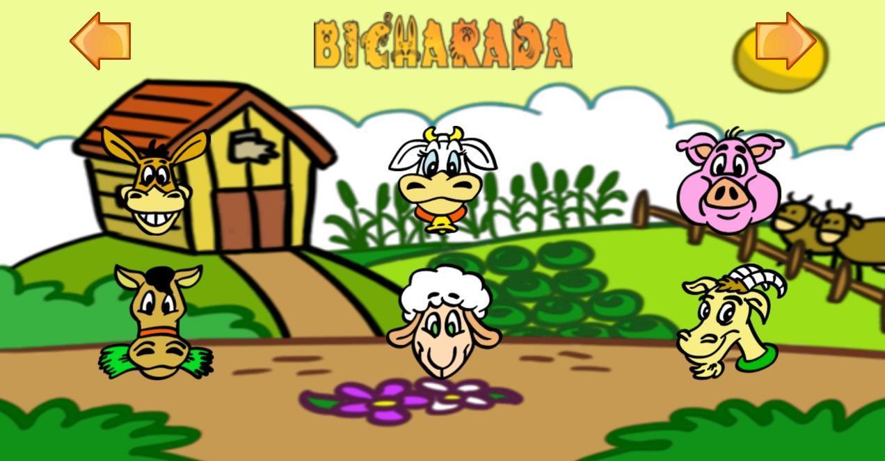 儿童农场图画大全图片