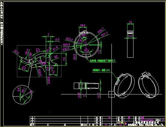 CAD布局中放大不出标注_360问答cad打印打印图片