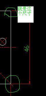 CAD中的起点绘图量指的是那两点的距离?_36cad查偏移比例图片