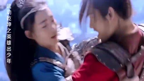 武动乾坤之英雄出少年:林动出手虐滕儡,几招就打趴下了!