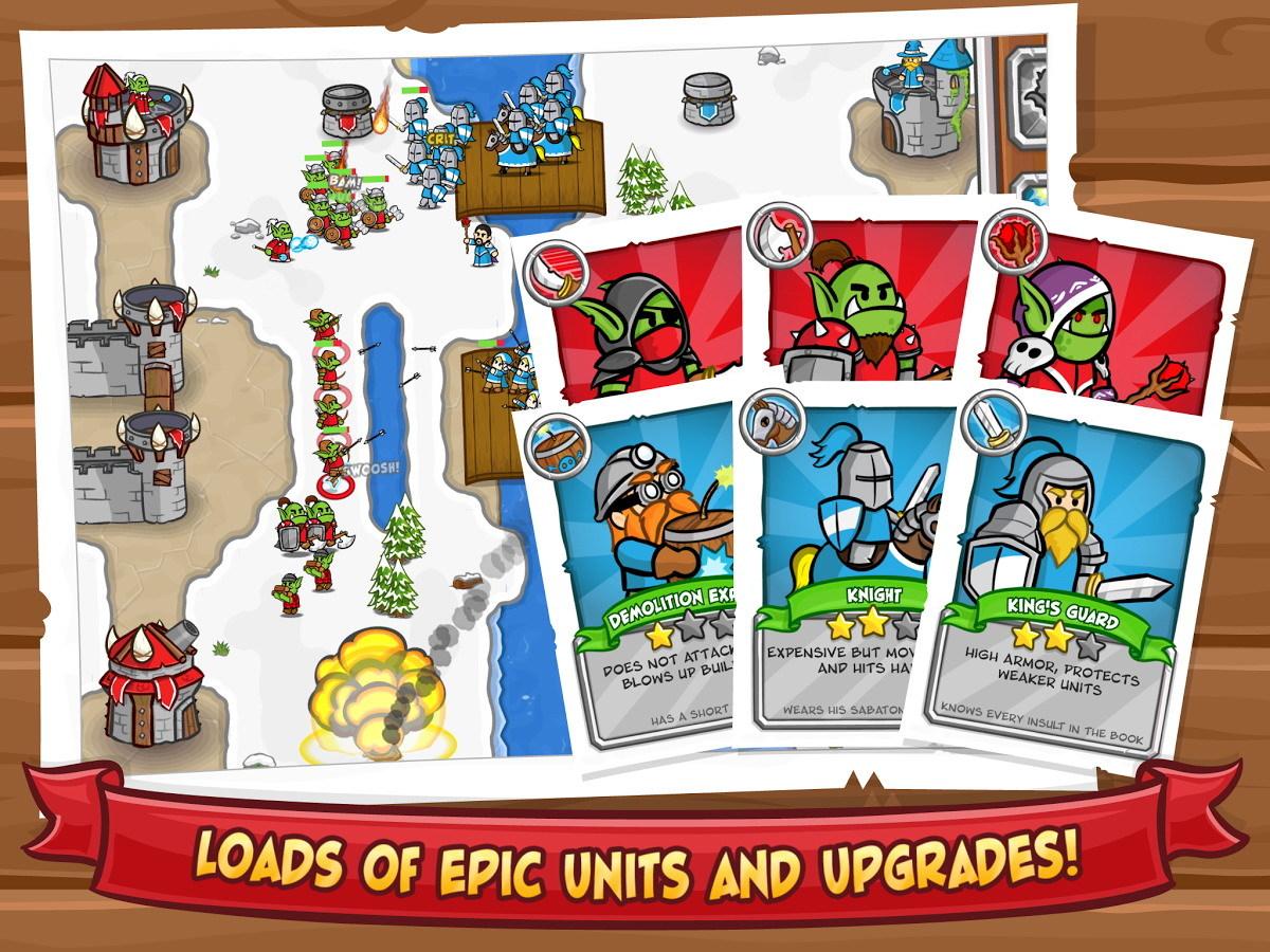 城堡攻击2 修改版截图2