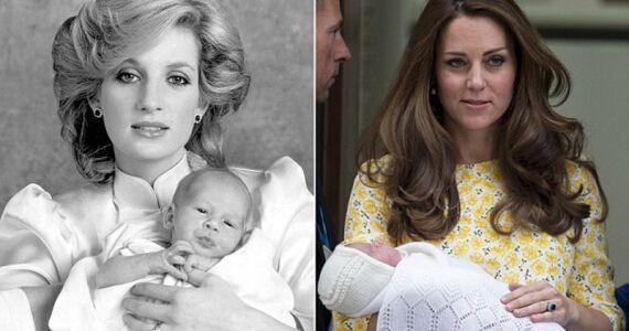 王妃凯特二胎生公主 起名戴安娜满足婆婆遗愿