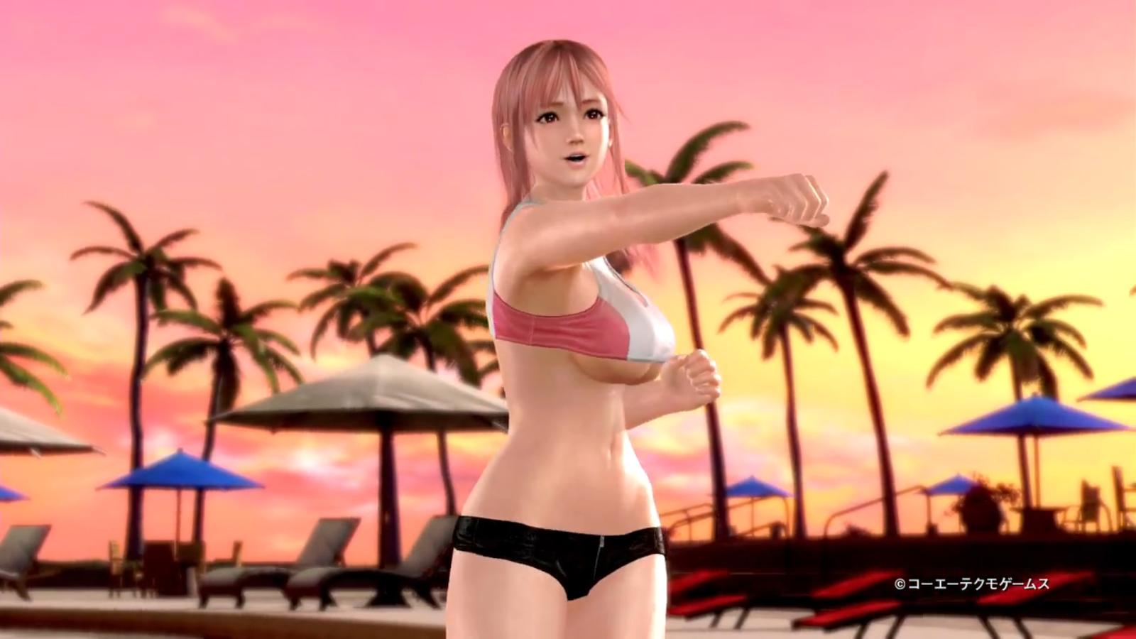 《沙滩排球3》穗乃果预告片发布