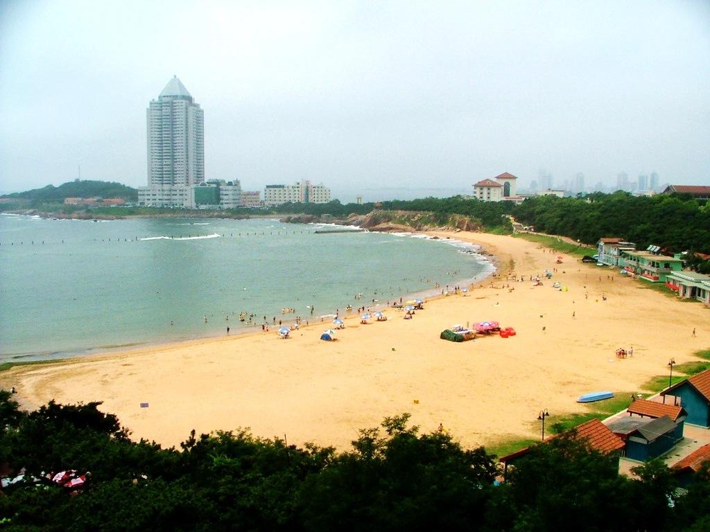 青岛第二海水浴场-360百科