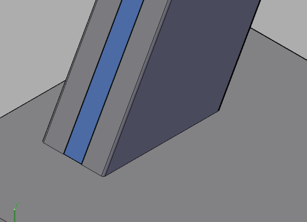 CAD三维圆角的直角直接变成图形?_360问cad2008天正8图片