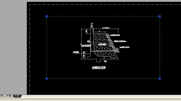 CAD坐标布局增加交点_360调整cad问答如何方框图片
