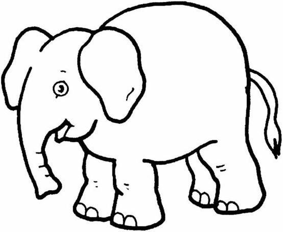 简单一点的大象怎么画