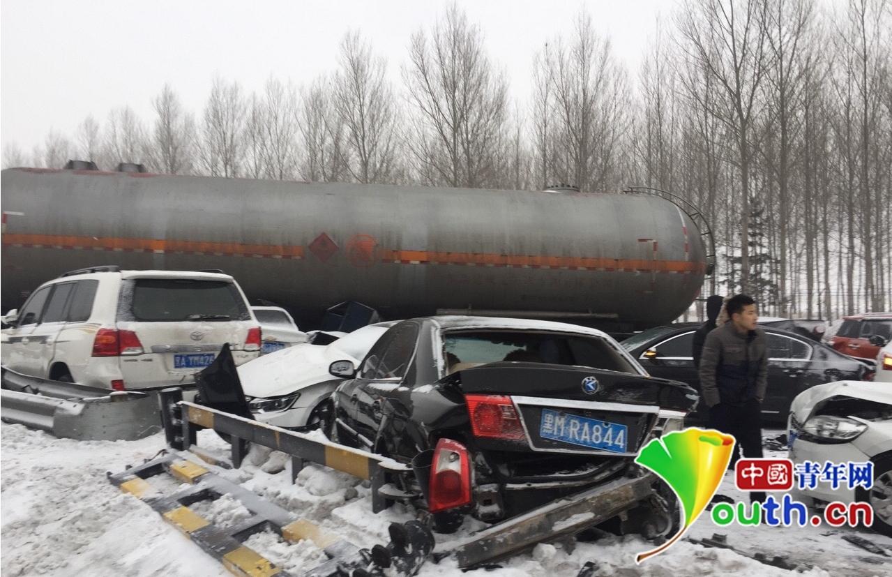 【转】北京时间     哈绥高速车祸一奥迪车上五人全部遇难 - 妙康居士 - 妙康居士~晴樵雪读的博客