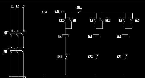 谁知道单按钮控制电机启动和停止?