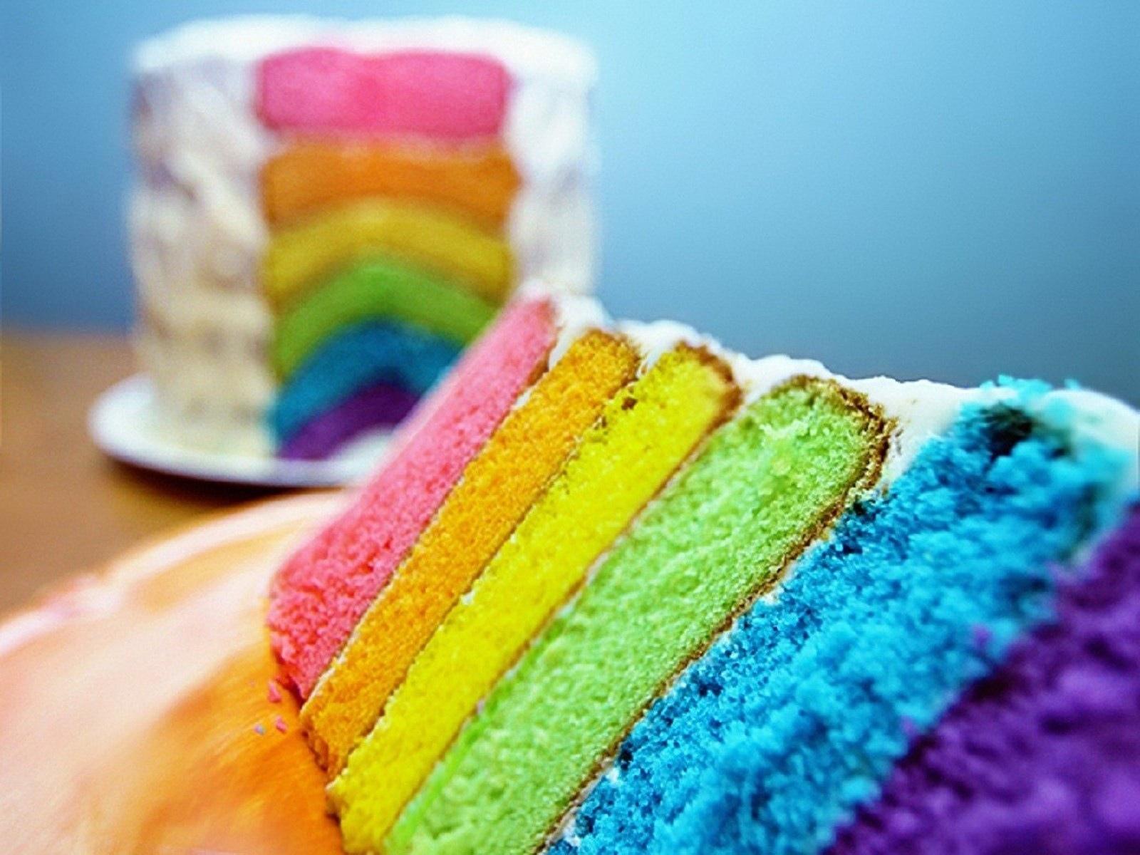 Cake Rainbow Texture