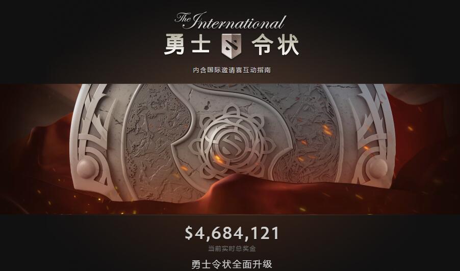 Ti6奖池暴增至460万美元