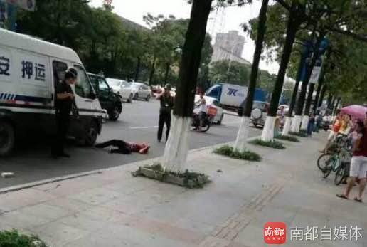 广东一男子疑追砸运钞车 被运钞安保击毙 - 周公乐 - xinhua8848 的博客