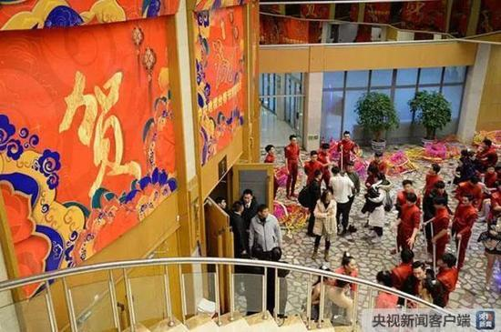 央视春晚彩排揭秘:这个体育加舞蹈节目创了个第1