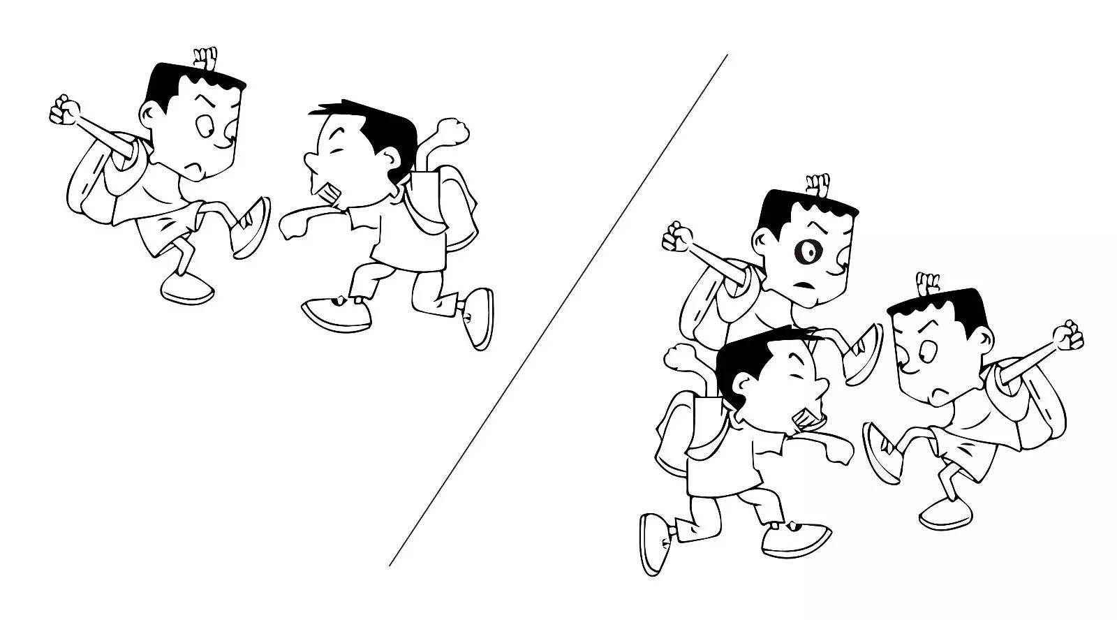 动漫 简笔画 卡通 漫画 手绘 头像 线稿 616_594