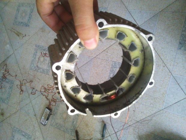 电动车电机坏了 想自己缠 求无刷12槽电机绕组接线图图片