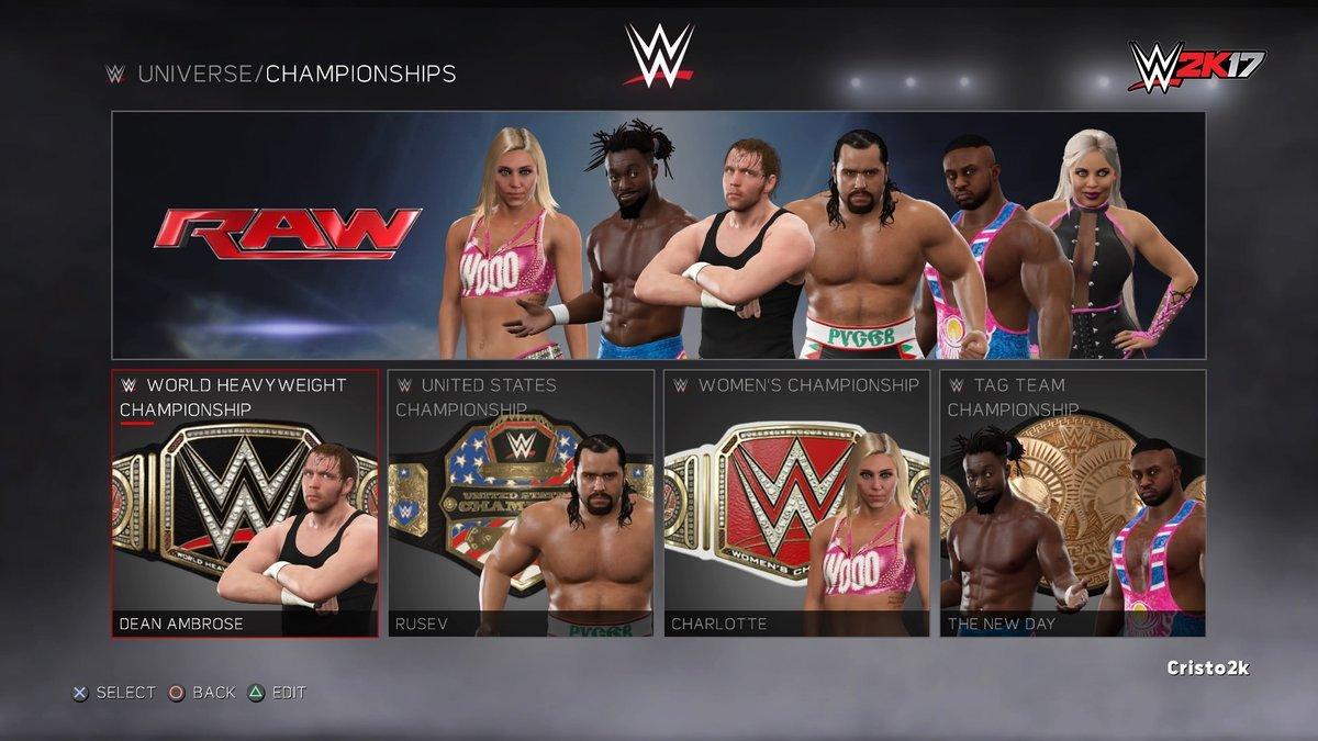 《WWE2K17》Universe新模式