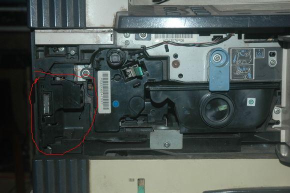 KM1620提示废粉盒满,问下废粉的检测传感器具