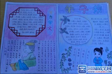 诗句规手抄报两版形式_360v诗句高中弟子默写图片