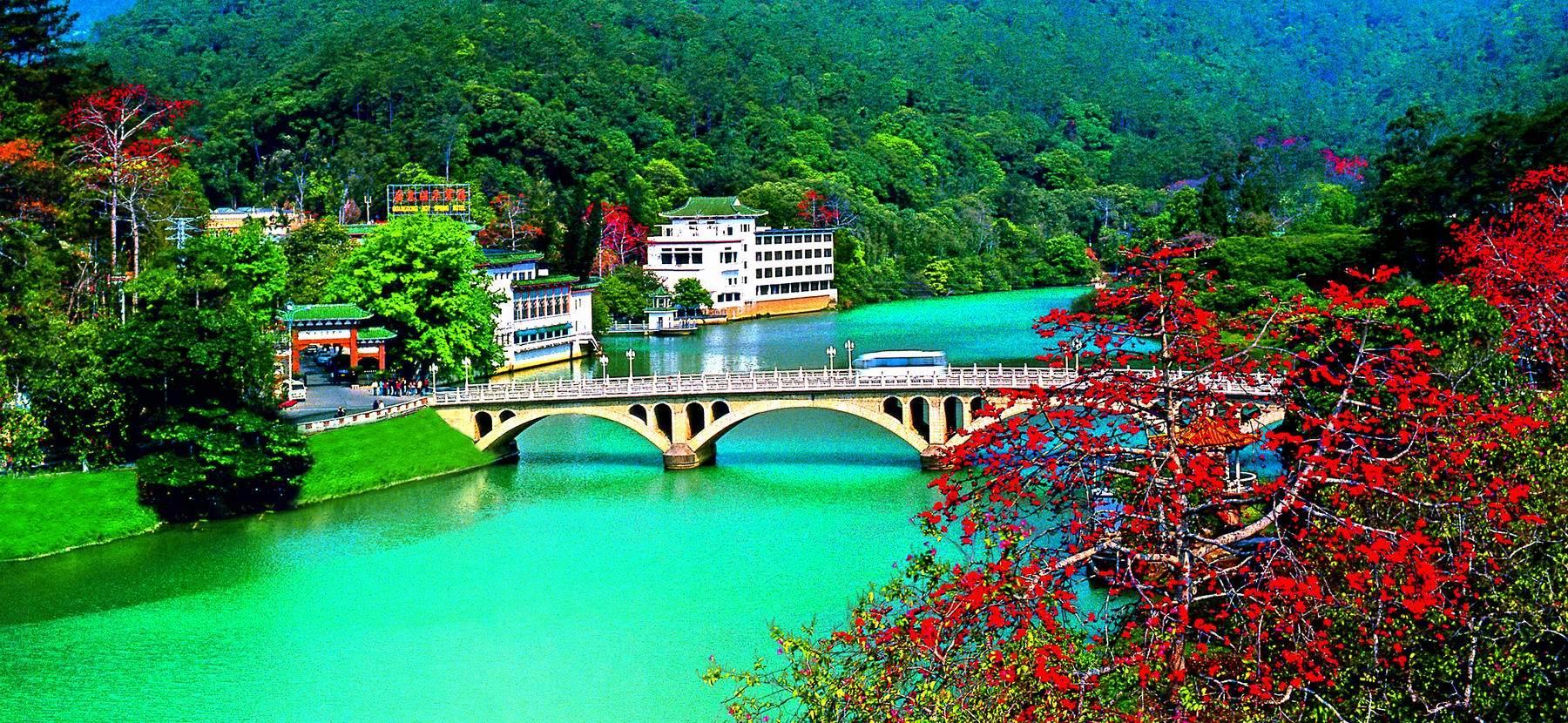 广州从募化温泉景致区