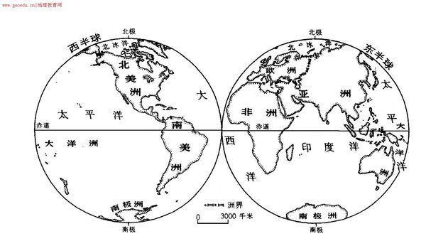 要一张黑白的、大的世界地图。图里什么都没有