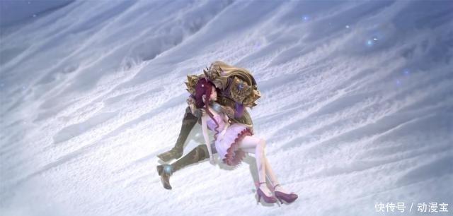 叶罗丽第七季:同样是躺在雪地当中,菲灵可怜,而她自作自受