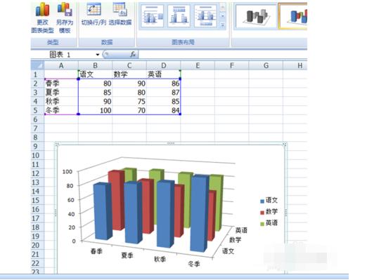 wps表格怎样设计数据的三维图形框图片