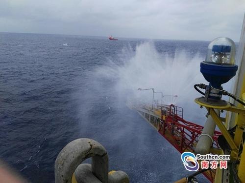 中国首次海域天然气水合物试采成功 - 草根花农 - 得之淡然、失之泰然、顺其自然、争其必然