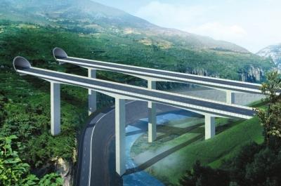 国家高速公路的纵向连接线,是连接中南与西北地区较为便捷的通道之一