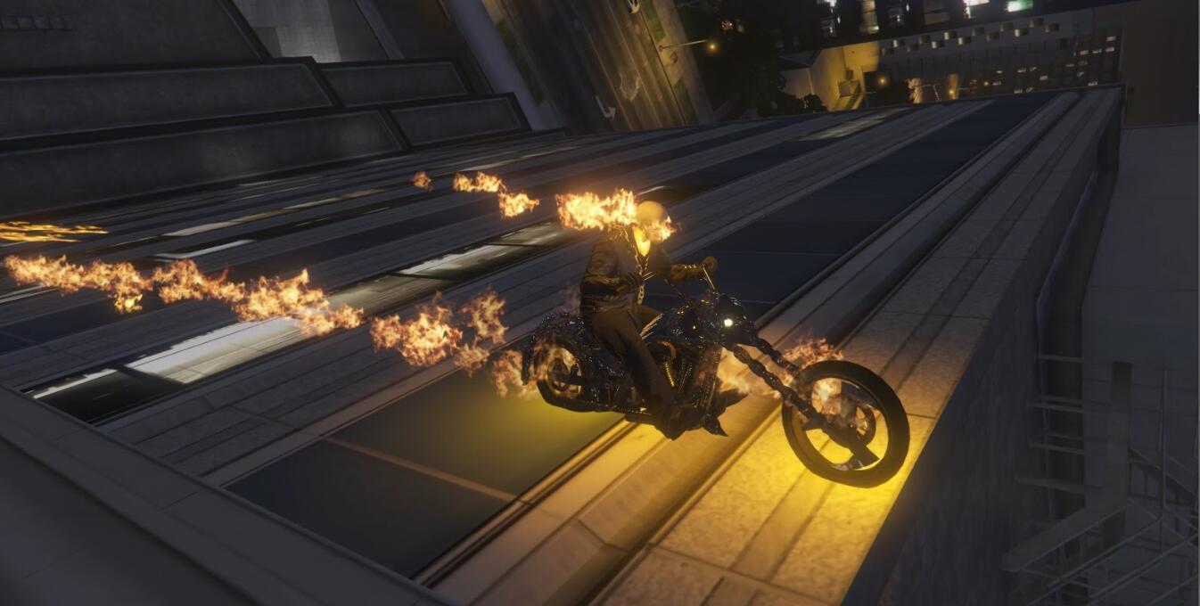 《GTA5》恶灵骑士MOD发布