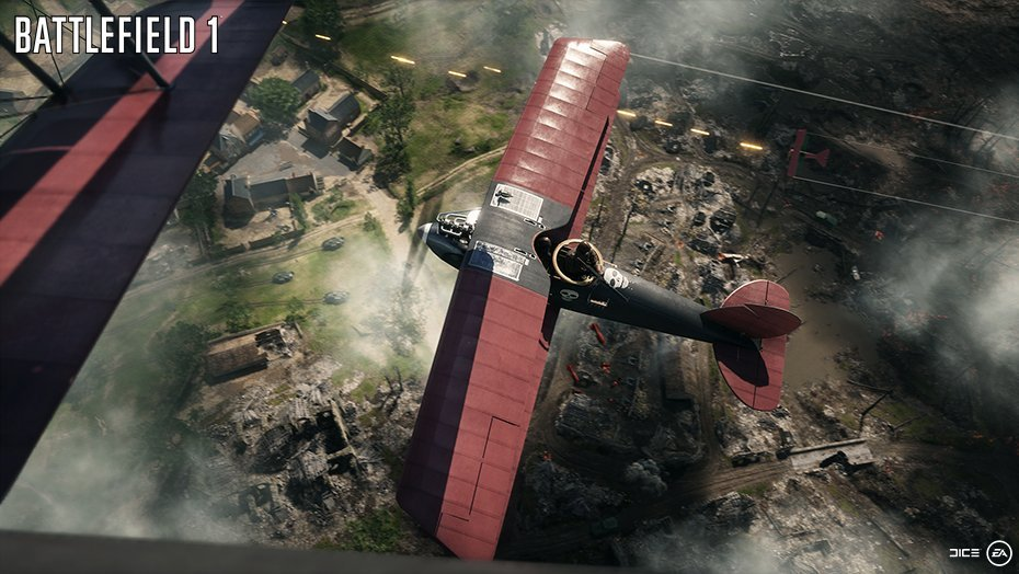 《战地1》再曝三张游戏截图