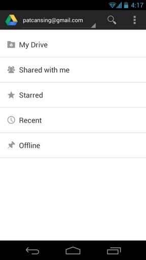 Google云端硬盘 Google Drive截图1