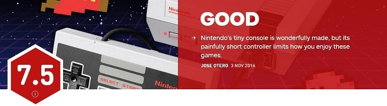 IGN给出MINI FC评分