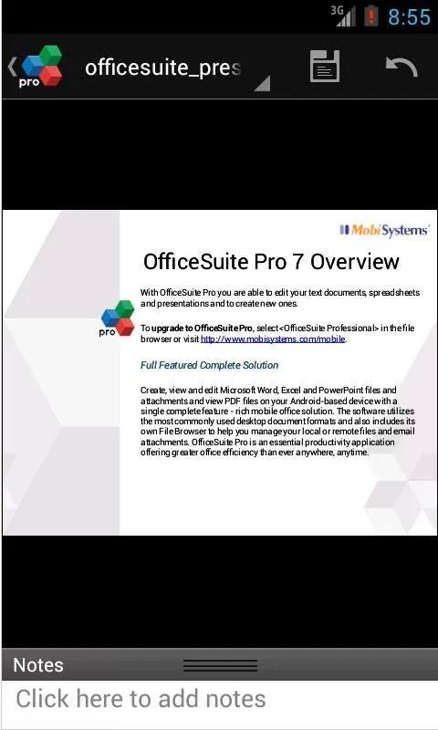OfficeSuite Pro截图2