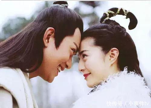 和黄海冰演的《萍踪侠影》里,范冰冰在剧里谈起恋爱来这个眼神完全