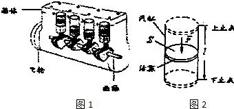 如图1为四缸四冲程发动机v冲程原理:内燃机通过博物馆cad盘微图片