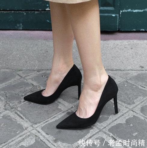 个子高就可以不穿高跟鞋了? 高跟鞋给你的气质, 平底鞋没法给你