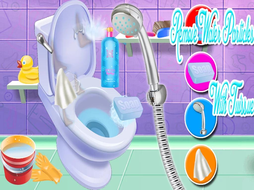《卫生间清洁火拼》安卓版下载-动作冒险-卫生间清洁