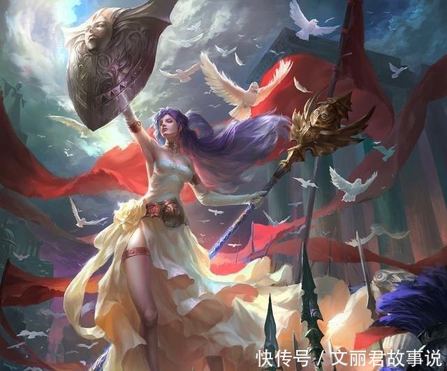 希腊神话的战争女神是雅典娜,中国神话中的战争女神是
