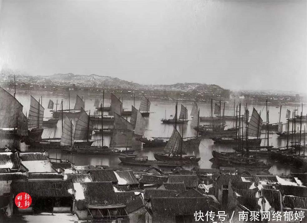 这里是晚清时期的武汉湖北,带你看百年前的武广酉v时期绵白糖图片