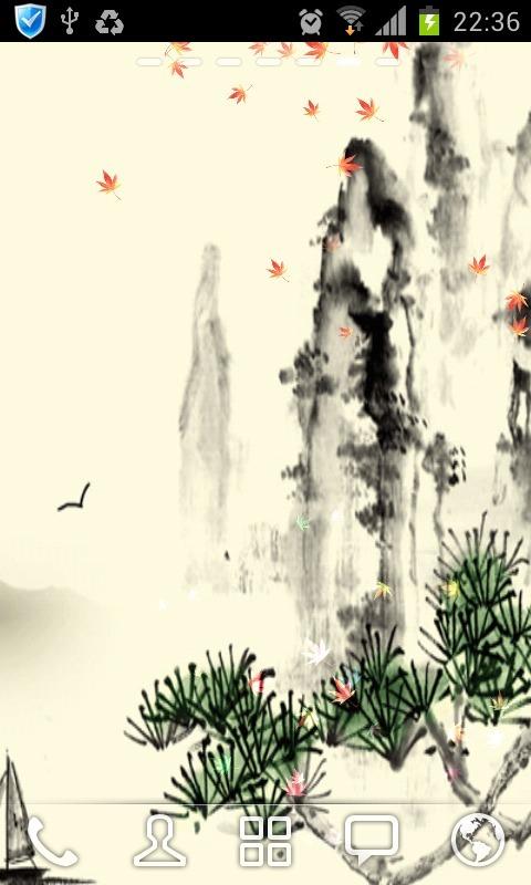 水墨中国风动态壁纸 360手机助手 -水墨中国风动态壁纸 来自