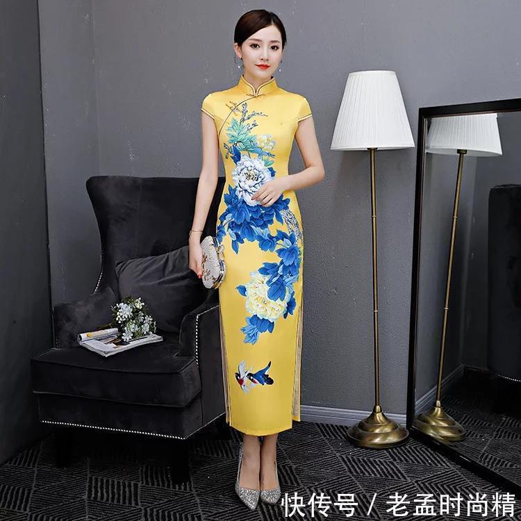 极致精美走秀时尚旗袍, 华韵国风, 秀美中国!